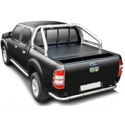 ROLL TOP COVER FORD RANGER 2012- SUPER CABINE - avec roll-bar d'origine