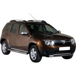 TUBES PROTECTION MARCHE-PIEDS INOX 76 DACIA DUSTER 2010- - accessoires 4X4 MISUTONIDA