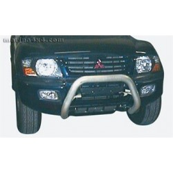 SUPER BAR INOX Ø 76 MITSUBISHI PAJERO 2000- 2003 (DID)