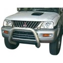 SUPER BAR INOX Ø 76 MITSUBISHI PAJERO 2003- 2006 (DID)