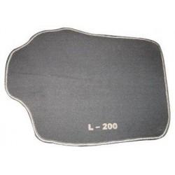 TAPIS DE SOL VELOURS TUFTING MITSUBISHI L200 CLUB CAB 2006- - accessoires 4x4