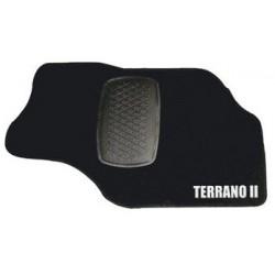 TAPIS DE SOL VELOURS TUFTING NISSAN TERRANO 2 3P 1993- - accessoires 4X4 MISUTONIDA