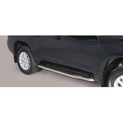 MARCHE PIEDS INOX 50 TOYOTA LAND CRUISER 150 5P 2014 - accessoires 4x4 MISUTONIDA