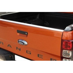PROTECTION INOX PORTE ARRIERE FORD RANGER 2012- - accessoires 4x4