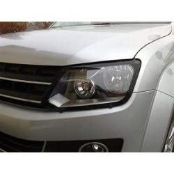 HEADLAMP GUARDS NISSAN PATHFINDER 2010- - PROTECTION PHARES PLEXI