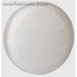 COUVRE ROUE PVC Ø 74 BLANC - accessoires 4X4 MISUTONIDA