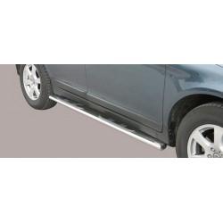 TUBES MARCHE PIEDS OVALE INOX VOLVO XC60 2009-2013 - accessoires 4x4 MISUTONIDA