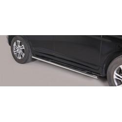 TUBES MARCHE PIEDS OVALE INOX VOLVO XC60 2014- - accessoires 4x4 MISUTONIDA