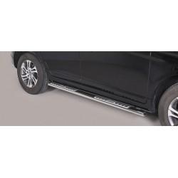 TUBES MARCHE PIEDS OVALE INOX DESIGN VOLVO XC60 2014- - accessoires 4x4 MISUTONIDA