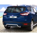 Protection arriere INOX 42 FORD KUGA 2013- CE accessoires 4x4 ANTEC