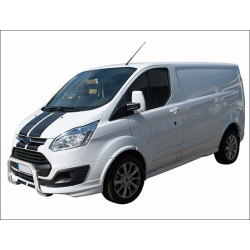 Protection avant INOX 60 FORD TRANSIT CUSTOM 2013- CE accessoires 4x4 MISUTONIDA