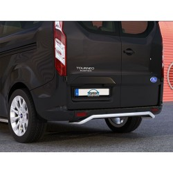 Protection arriere INOX 42 FORD TOURNEO CUSTOM 2013- CE accessoires 4x4 MISUTONIDA