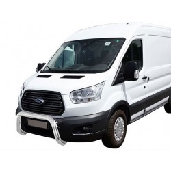 Protection avant INOX 76 FORD TRANSIT 2014- - CE accessoires 4x4 MISUTONIDA