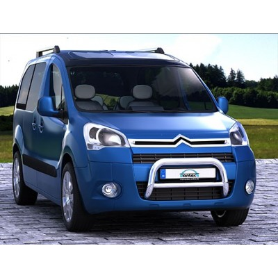 protection avant inox 60 citroen berlingo 2012 ce. Black Bedroom Furniture Sets. Home Design Ideas
