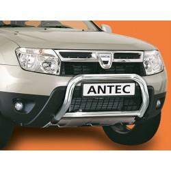 Protection Pieton Bar INOX 60 DACIA DUSTER 2010->2014 - CE accessoires 4X4 ANTEC