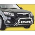 Protection avant basse INOX 70 HYUNDAI SANTA 2012- - CE accessoires 4x4 ANTEC
