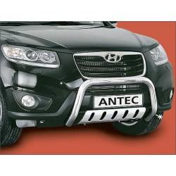 Barre de protection des pietons INOX 70 HYUNDAI SANTA FE 5P 2010- - CE accessoires 4X4 ANTEC