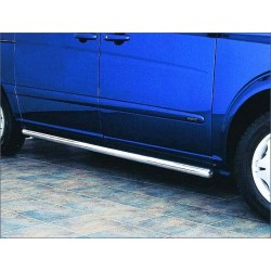 Protection laterale rondes INOX 60 MERCEDES VITO 2010- - CE accessoires 4x4 ANTEC