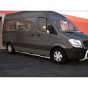 Protection laterale INOX 60 MERCEDES SPRINTER 2013- - CE accessoires 4x4 ANTEC