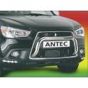 Protection avant INOX 60 MITSUBISHI ASX 2010- - CE accessoires 4X4 ANTEC