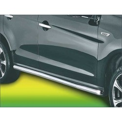 Protection laterale INOX 51 MITSUBISHI ASX 2010- - CE accessoires 4X4 ANTEC