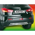 Tube arriere INOX 38 MITSUBISHI ASX 2010- - CE accessoires 4X4 ANTEC