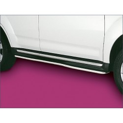 Protection laterale rondes INOX 35 MITSUBISHI OUTLANDER 2010- - CE accessoires 4X4 ANTEC