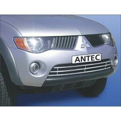 Grille daeration INOX 16 MITSUBISHI L200 2010-2012 - CE accessoires 4X4 ANTEC