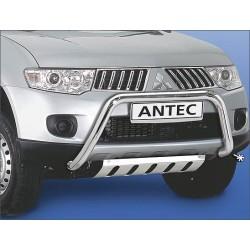 Protection avant haut INOX 60 MITSUBISHI L200 2010-2012 - CE accessoires 4X4 ANTEC