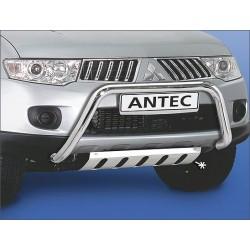 Panneau de protection de pont INOX MITSUBISHI L200 2010-2012 - CE accessoires 4X4 ANTEC