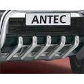 Protection de pont INOX MITSUBISHI PAJERO V80 2012- - CE accessoires 4X4 ANTEC