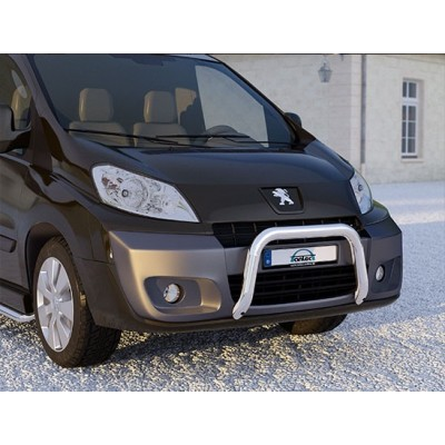 protection avant inox 60 peugeot expert tepee 2012 ce. Black Bedroom Furniture Sets. Home Design Ideas