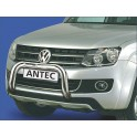 Barre de protection des pietons INOX 70 VOLKSWAGEN AMAROK PICK-UQ 2010- - CE accessoires 4X4 ANTEC