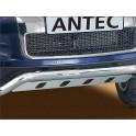 Protection de pont avant INOX VOLKSWAGEN TOUAREG 2010- - CE accessoires 4X4 ANTEC