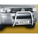 Barre de protection des pietons INOX 60 VOLKSWAGEN TRANSPORTER T5 2009-2013 - CE accessoires 4X4 ANTEC