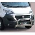 MEDIUM BAR INOX D.63 FIAT DUCATO 2014- CE - accessoires 4x4 MISUTONIDA