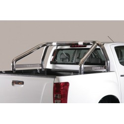 ROLL BAR INOX D.76 ISUZU DMAX 2012- Compatible Roll Top Cover