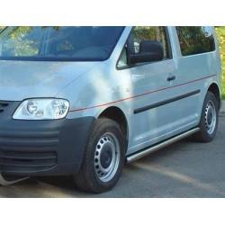 TUBE BAS DE CAISSE INOX D.60 VW CADDY 2004-2012 (PAIRE)