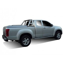 TONNEAU COVER CT ISUZU DMAX 2012- SPACE CAB COMPATIBLE ROLL BAR ORIGINE
