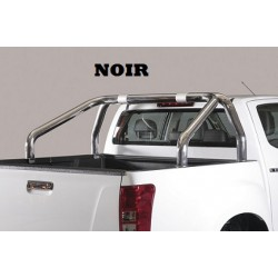 ROLL BAR NOIR DOUBLES TUBES D.76 ISUZU DMAX 2012- - accessoires 4X4 MISUTONIDA