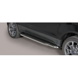 MARCHE PIEDS INOX D.50 FORD ECOSPORT 2014- - accessoires 4x4 MISUTONIDA