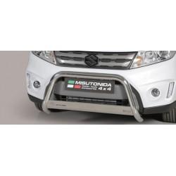 MEDIUM BAR INOX D.63 SUZUKI VITARA 2015- - CE - accessoires 4x4 MISUTONIDA