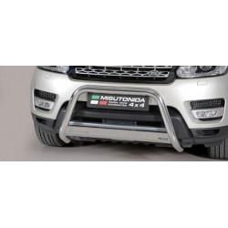 MEDIUM BAR INOX D.63 LAND ROVER RANGE ROVER SPORT 2014-> - CE - accessoires 4x4 MISUTONIDA