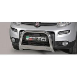 MEDIUM BAR INOX D.63 FIAT PANDA 4X4 2013- > CE - accessoires 4x4 MISUTONIDA
