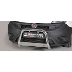 MEDIUM BAR INOX D.63 FIAT DOBLO 2015-> CE - accessoires 4x4 MISUTONIDA