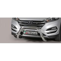 SUPER BAR INOX D.76 HYUNDAI TUCSON 2015- - CE - accessoires 4x4 MISUTONIDA