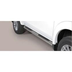 TUBE PROTECTION AVANT INOX D.76 MITSUBISHI L200 2015- Club Cab- accessoires 4x4 MISUTONIDA