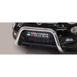 SUPER BAR INOX D.76 FIAT 500 X 2015- CE - MISUTONIDA