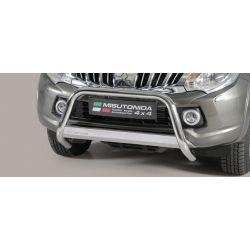 MEDIUM BAR INOX D.63 MITSUBISHI L200 2015-  double cabine - CE - MISUTONIDA