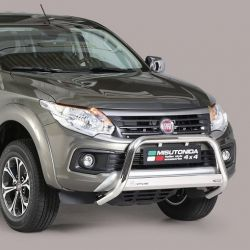 MEDIUM BAR INOX D.63 FIAT FULLBACK 2016- DOUBLE CAB CE - MISUTONIDA